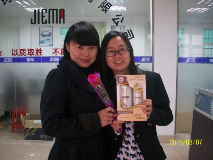 2015年3.8节女同胞们收到礼品