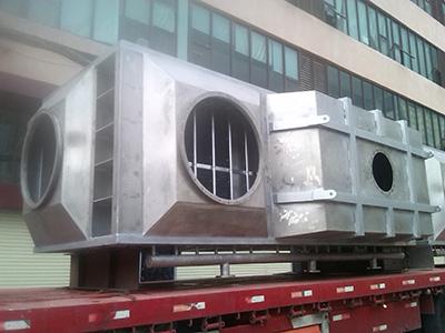 捷玛板式空散器应用于广州浩和图装工程